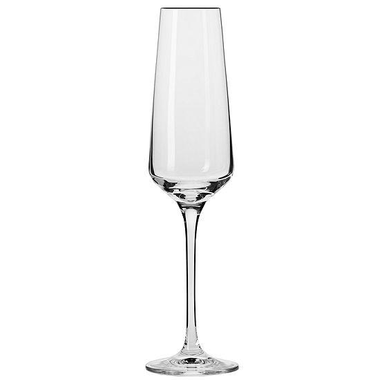 Krosno Vera Set Of 6 Champagne Flutes
