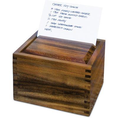 Ironwood Recipe Box