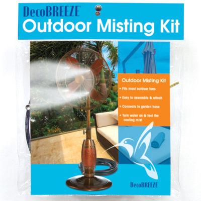 Deco Breeze® Outdoor Fan Misting Kit