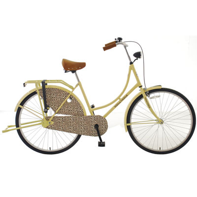 Hollandia City Leopard Dutch Women's Cruiser Bicycle