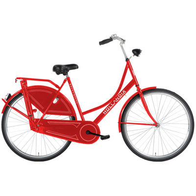 "Hollandia Royal Dutch Women's 700c, 22"" Red City Bicycle"