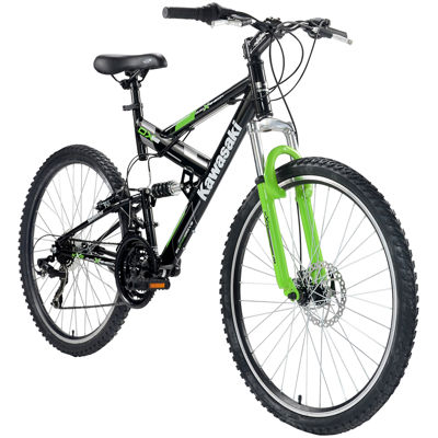 Kawasaki DX Full Suspension Men's Mountain Bicycle