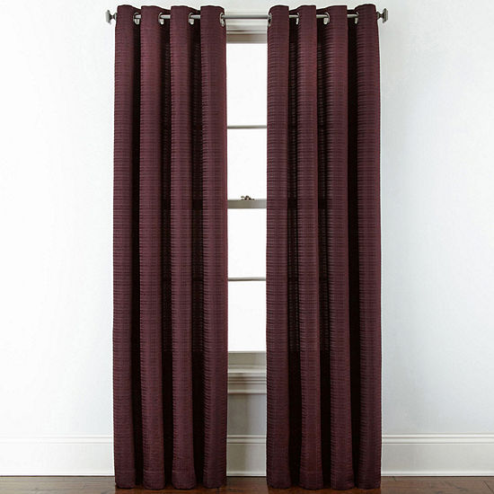 Studio™ Warner Chenille Grommet-Top Curtain Panel