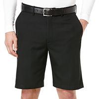 PGA Tour Mens DriFlux Flat-Front Expandable Waist Shorts