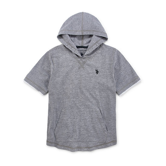 U.S. Polo Assn. Little & Big Boys Embroidered Hoodie