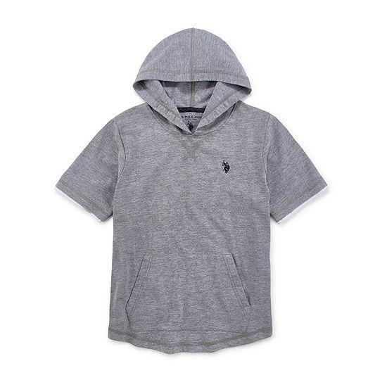 U.S. Polo Assn. Boys Embroidered Hoodie - Preschool / Big Kid