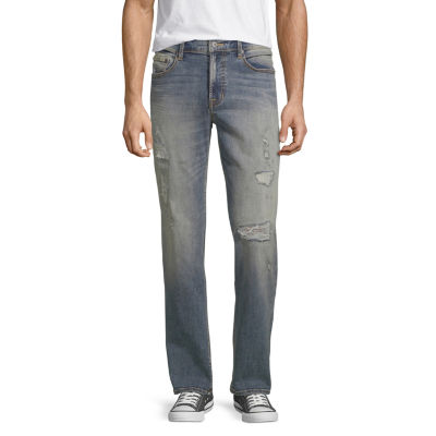 Arizona Mens Straight Fit Straight Leg Jean