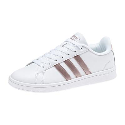 adidas Advantage Womens Sneakers Slip-on