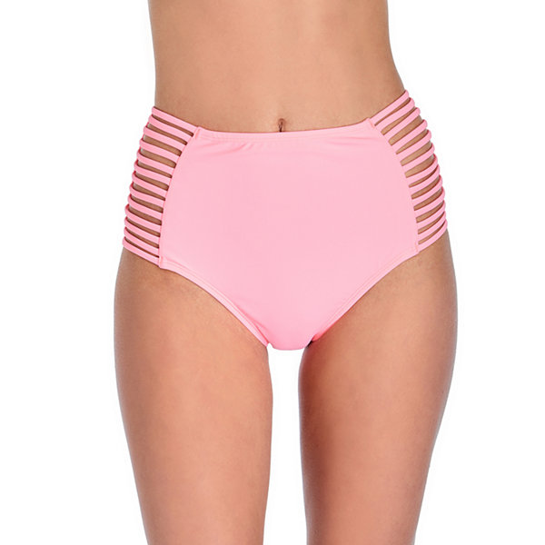 Arizona High Waist Swimsuit Bottom-Juniors