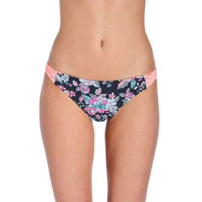 Arizona Floral Hipster Bikini Swimsuit Bottom Juniors