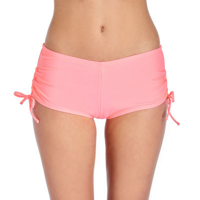 Arizona Boyshort Bikini Swimsuit Bottom Juniors