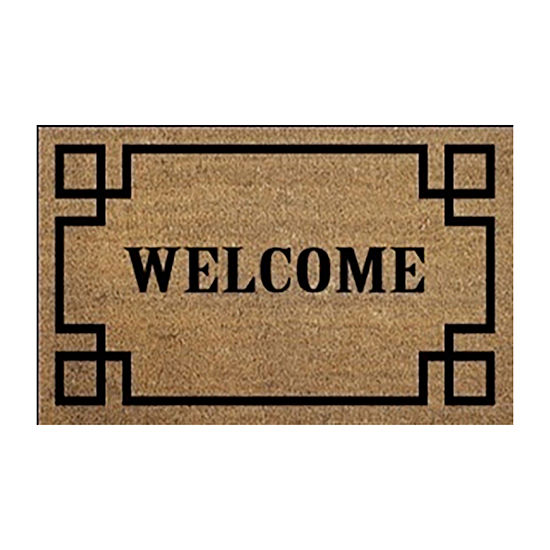 Direct Home Textiles Group Welcome Rectangular Outdoor Doormat