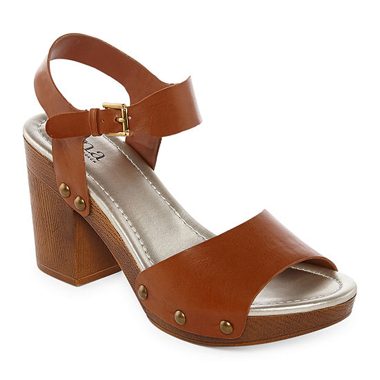 a.n.a Womens Vista Heeled Sandals