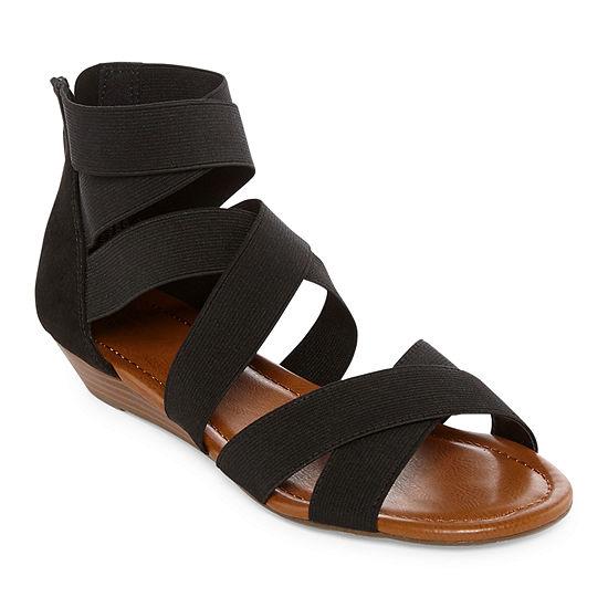 a.n.a Womens Dasha Wedge Sandals