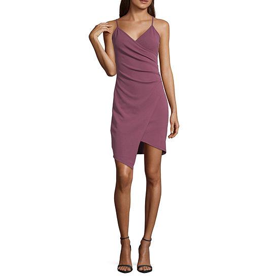 Almost Famous Sleeveless Bodycon Dress Juniors