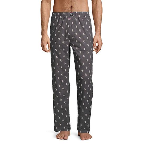 Us Polo Assn Mens Poplin Pajama Pants
