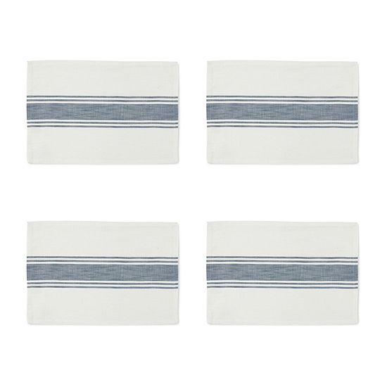 Homewear Farmhouse Stripe 4-pc. Placemat