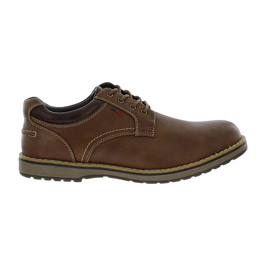 IZOD Mens Lewis Oxford Shoes Wide Width