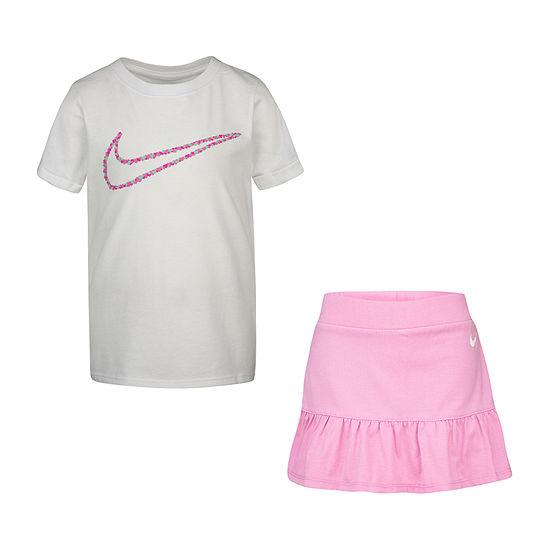 Nike Girls 2-pc. Skort Set Little Kid