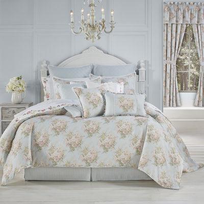 Royal Court Hilary 4-pc. Floral Heavyweight Comforter Set