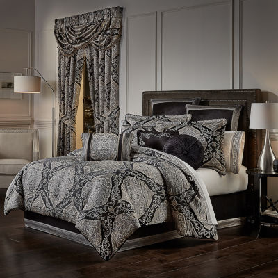Queen Street Virginia 4-pc. Jacquard Heavyweight Comforter Set