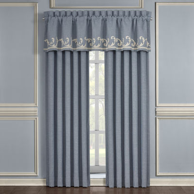 Queen Street Augusta Rod-Pocket Waterfall Valance