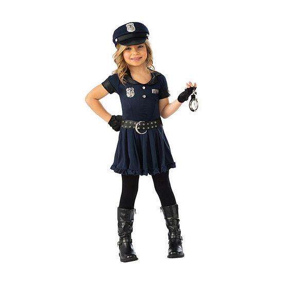 Girls Cop Cutie Costume