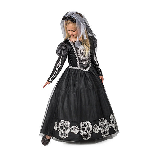 Girls Bride Of The Dead Costume