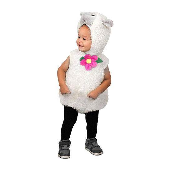 Furry Lamb Costume Toddler