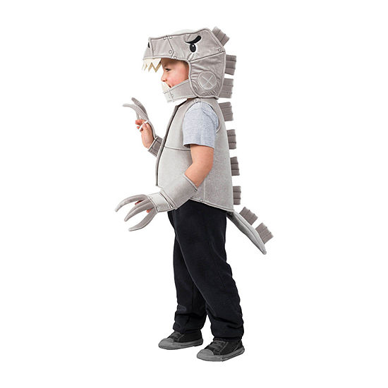 Boys Robo T-Rex Dino Vest Costume