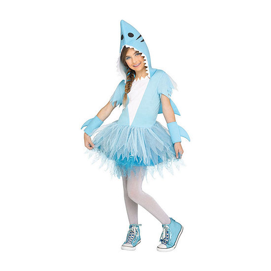 Shark Tutu Girl'S Costume Girls Costume