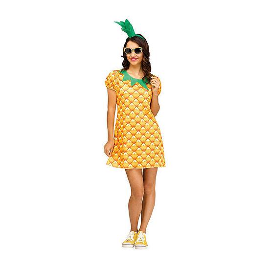 Pineapple Cutie Women's Costume
