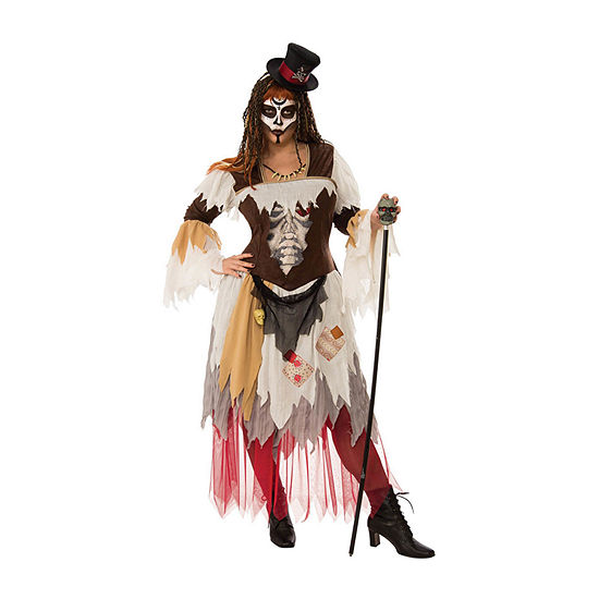 Curvy Conjure Woman Plus Dress Up Costume