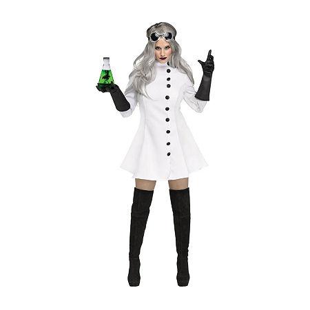 Mad Scientist Women'S Costume Costume Costume, Medium , White