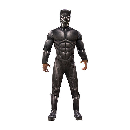 Marvel Black Panther Movie Mens Deluxe Dress Up Costume