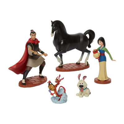 Disney Collection 5-Pc. Mulan Figurine Playset
