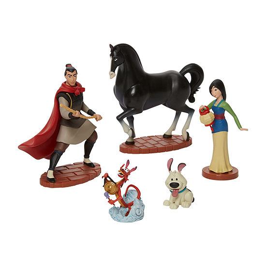Disney Collection 5-Pc. Mulan Figurine Playset
