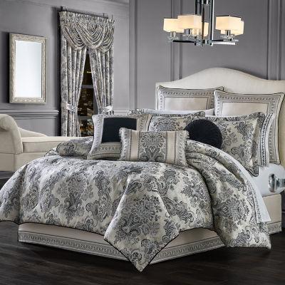 Queen Street Anita 4-pc. Jacquard Heavyweight Comforter Set
