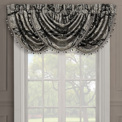 Queen Street Virginia Rod-Pocket Waterfall Valance