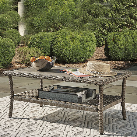 Signature Design by Ashley Clear Ridge Patio Coffee Table