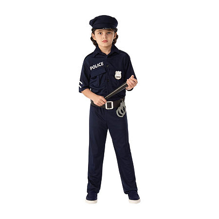 Police Child Costume, Small , Multiple Colors