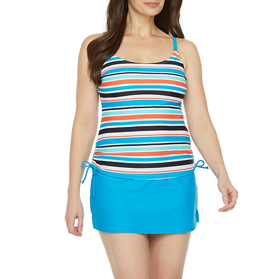 Beach Diva Striped Tankini Swimsuit Top or Swimsuit Bottom