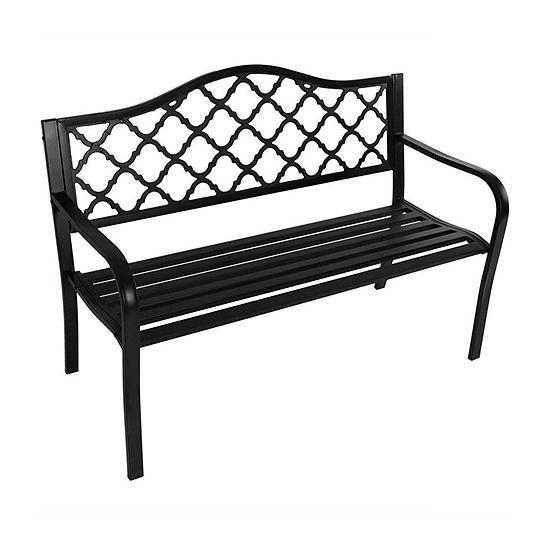 Sunnydaze Patio Collection Patio Bench