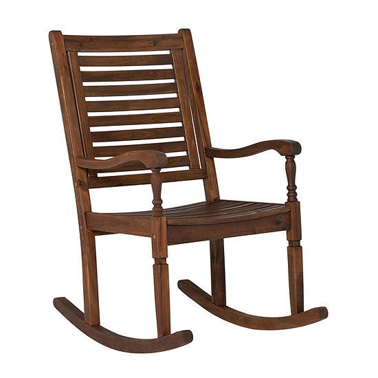 Willard Collection Patio Rocking Chair