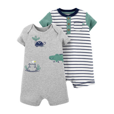 Carter's Baby Boys 2-pc. Short Sleeve Romper