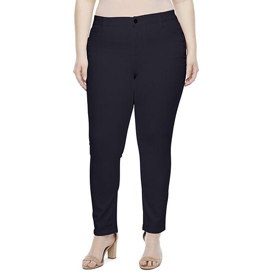 Liz Claiborne Womens Flexi Fit Skinny Fit Denim - Plus