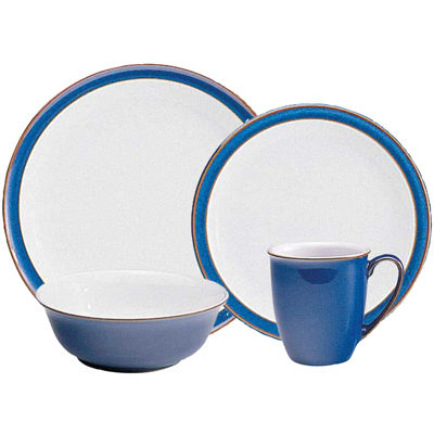 Denby Imperial Blue 4-pc. Place Setting