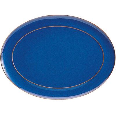 Denby Imperial Blue Oval Serving Platter