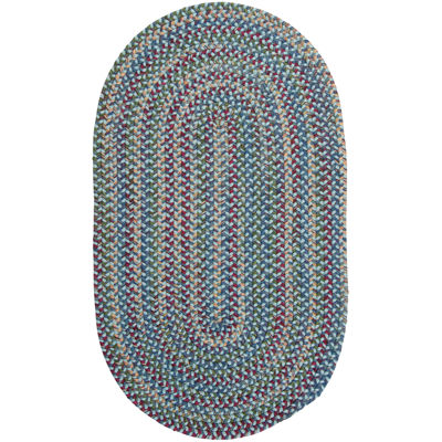 Colonial Mills® Andreanna Reversible Braided Oval Rug