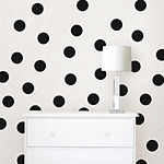 Set of 64 Confetti Dot Wall Decals